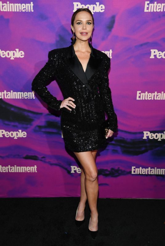 ARIELLE KEBBEL at Entertainment Weekly & People New York Upfronts Party 05/13/2019