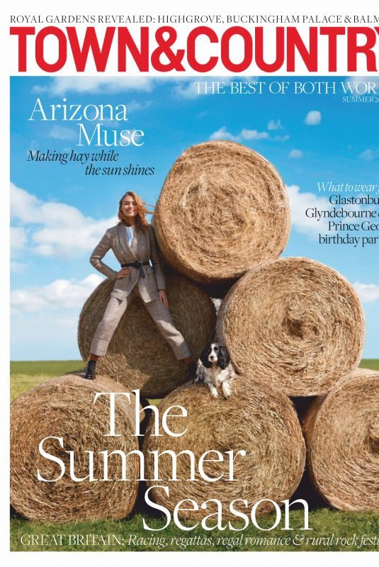 ARIZONA MUSE in Town & Country Magazine, UK May 2019