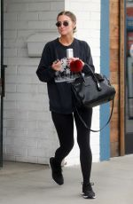 ASHLEE SIMPSON Out and About in Los Angeles 05/07/2019
