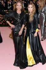 ASHLEY and MARY KATE OLSEN at 2019 Met Gala in New York 05/06/2019