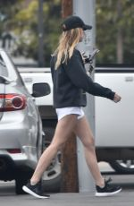 ASHLEY BENSON in Shorts Out in Studio City 05/09/2019