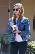 ASHLEY BENSON Out for Coffee in West Hollywood 05/30/2019