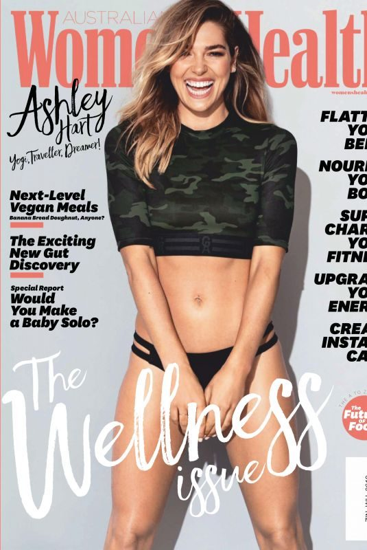 ASHLEY HART in Women's Health Magazine, Australia June 2019
