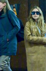 ASHLEY OLSEN Leaves Her Apartment in New York 05/02/2019