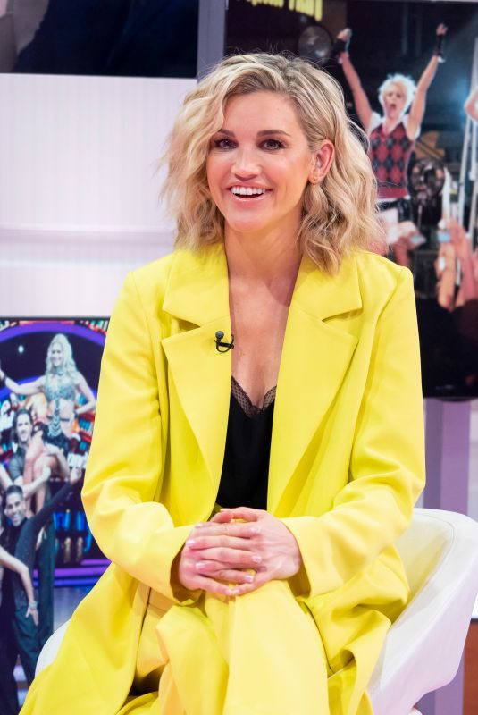 ASHLEY ROBERTS at Good Morning Britain in London 05/21/2019