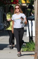 ASHLEY TISDALE Leaves Training Mate in Studio City 05/29/2019