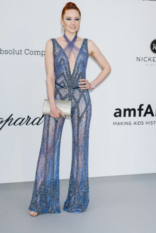 BARBARA MEIER at Amfar Cannes Gala 2019 05/23/2019
