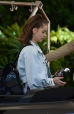 BARBARA PALVIN Arrives at Her Hotel in Miami 05/09/2019
