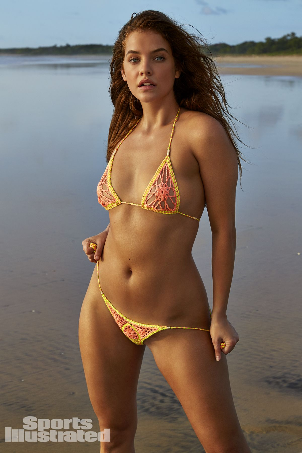 illustrated swimsuit palvin barbara sports issue si bikini swim through costa shoot hawtcelebs japan rica photographed macari james supermodels photoshoot
