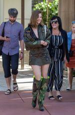 BARBARA PALVIN Leaves Her Hotel in Miami 05/10/2019