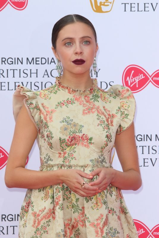 BEL POWLEY at Virgin Media British Academy Television Awards 2019 in London 05/12/2019