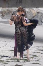 BELLA HADID at a Photoshoot in Malibu 05/13/2019