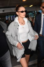 BELLA HADID at Nice Airport 05/15/2019