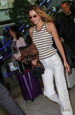 BELLA HADID at Nice Airport 05/24/2019