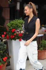 BELLA HADID Out for Lunch at Via Alloro in Beverly Hills 05/08/2019