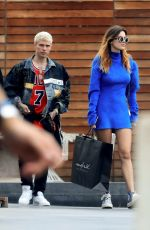 BELLA THORNE Shopping at Maxfield in Los Angeles 05/23/2019