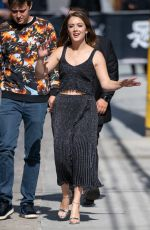 BILLIE LOURD Arrives at Jimmy Kimmel Live! 05/16/2019