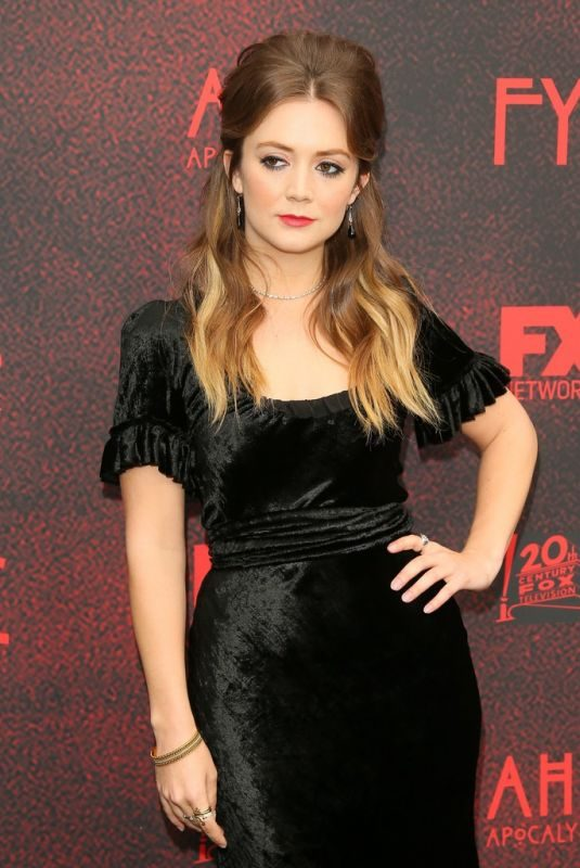 BILLIE LOURD at American Horror Story: Apocalypse FYC Event in Los Angeles 05/18/2019