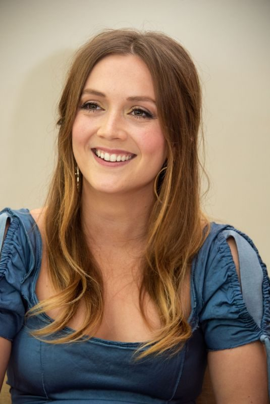 BILLIE LOURD at Booksmart Press Conference in Beverly Hills 05/03/2019
