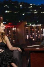 BILLIE LOURD at Jimmy Kimmel Live in Hollywood 05/16/2019