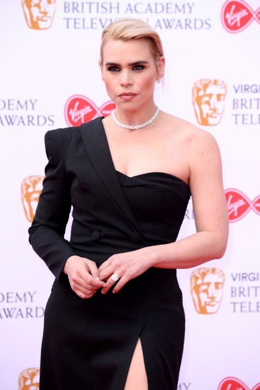 BILLIE PIPER at Virgin Media British Academy Television Awards 2019 in London 05/12/2019