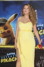 BLAKE LIVELY at Pokemon: Detective Pikachu Premiere in New York 05/02/2019