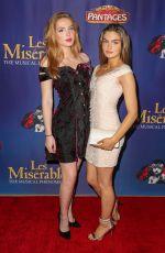 BRIGHTON SHARBINO at Les Miserables Opening Night in Hollywood 05/09/2019