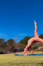 BRITNEY SPEARS in Bikini Doing Yoga - Instagram Video 05/04/2019