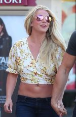 BRITNEY SPEARS Out Shopping at The Gap in Camarillo 05/17/2019