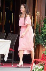 BROOKE SHIELDS at Nello Restaurant in New York 05/24/2019