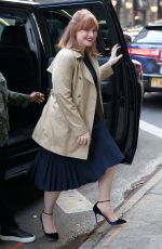 BRYCE DALLAS HOWARD Arrives at Good Morning America in New York 05/28/2019