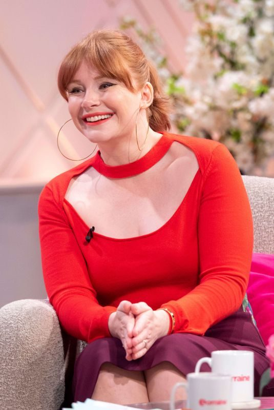 BRYCE DALLAS HOWARD at Lorraine Show in London 05/20/2019