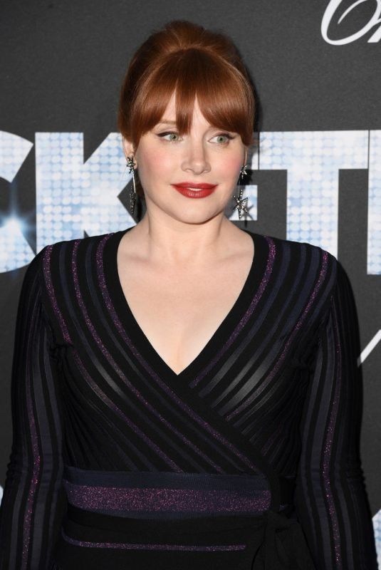 BRYCE DALLAS HOWARD at Rocketman Party at 72nd Annual Cannes Film Festival 05/17/2019