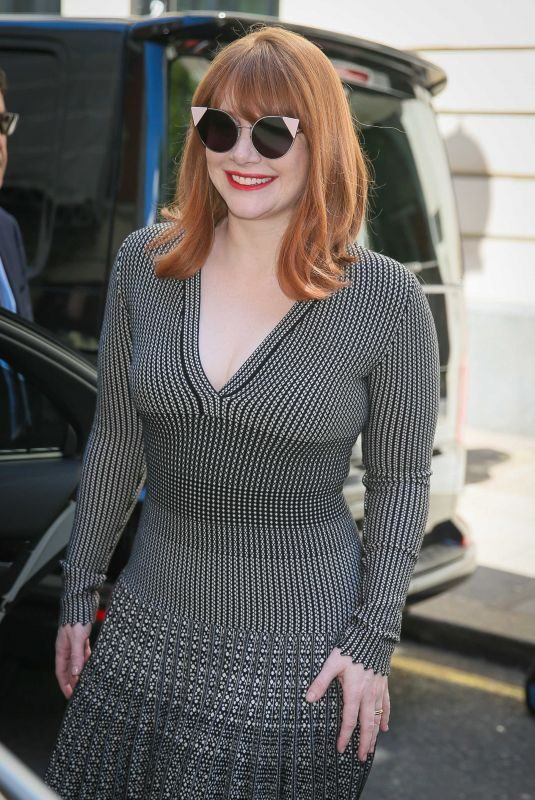BRYCE DALLAS HOWARD Out and About in London 05/21/2019