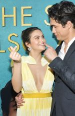CAMILA MENDES at The Sun Is Also A Star Premiere in Los Angeles 05/13/2019