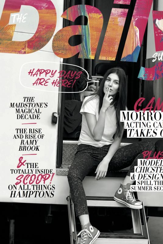 CAMILA MORRONE for Daily Front Row, May 2019