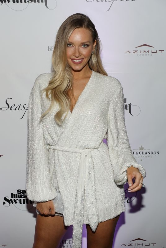 CAMILLE KOSTEK at Sports Illustrated Swimsuit 2019 Issue Launch at Seaspice in Miami 05/10/2019