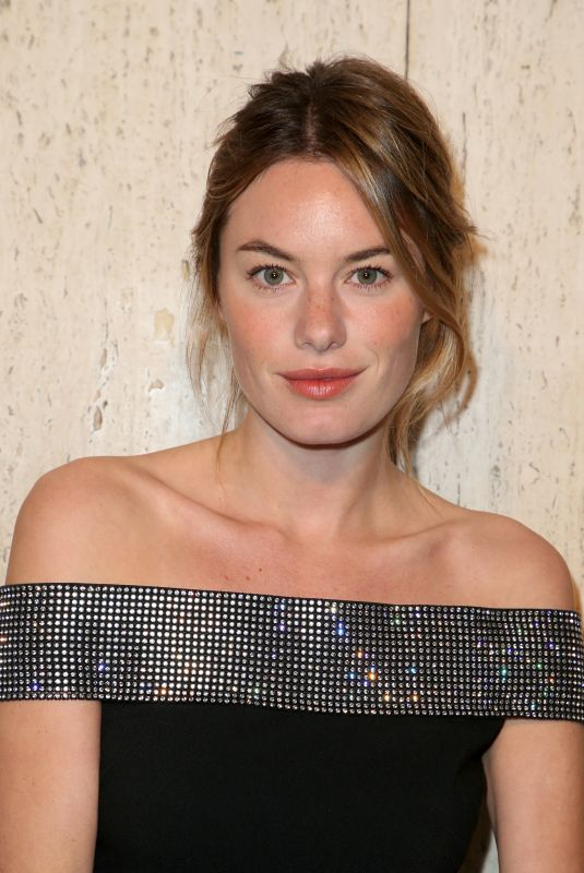 CAMILLE ROWE at Christopher Kane