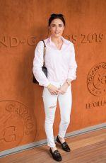 CAPUCINE ANAV at French Tennis Open at Roland Garros in Paris 05/28/2019
