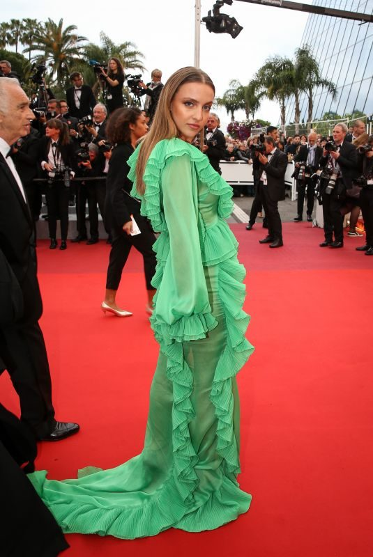 CARLA GINOLA at A Hidden Life Premiere at Cannes Film Festival 05/19/2019