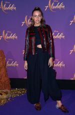 CARLA GINOLA at Aladdin Gala Screening in Paris 05/08/2019