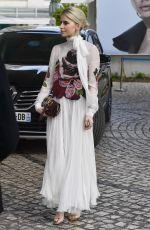 CARO DAUR Leaves Martinez Hotel in Cannes 05/15/2019