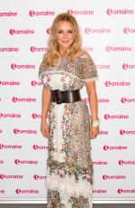 CAROL VORDERMAN at Lorraine Show in London 05/28/2019