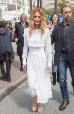 CAROLINE RECEVEUR Out at Cannes Film Festival, 05/21/2019