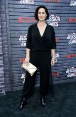 CARRIE-ANNE MOSS at Jessica Jones, Season 3 Premiere in Hollywood 05/28/2019