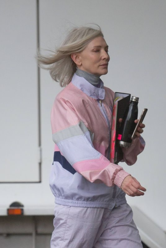 CATE BLANCHETT on the Set of Stateless in Adelaide 05/28/2019