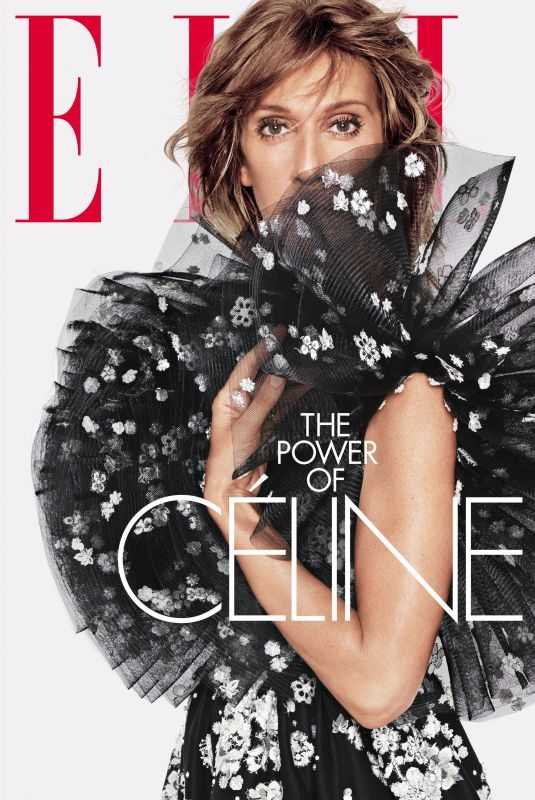 CELIN DION in Elle Magazine, June 2019