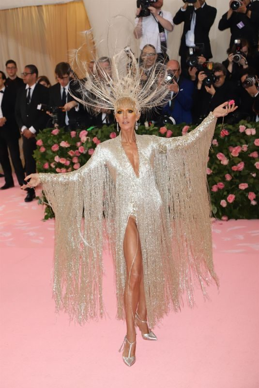 CELINE DION at 2019 Met Gala in New York 05/06/2019