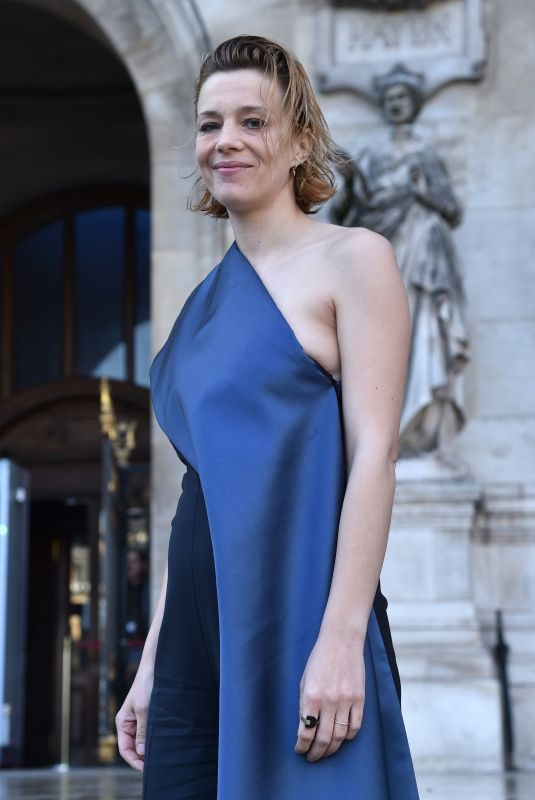 CELINE SALLETTE at 350th Anniversary of Opera Garnier in Paris 05/08/2019