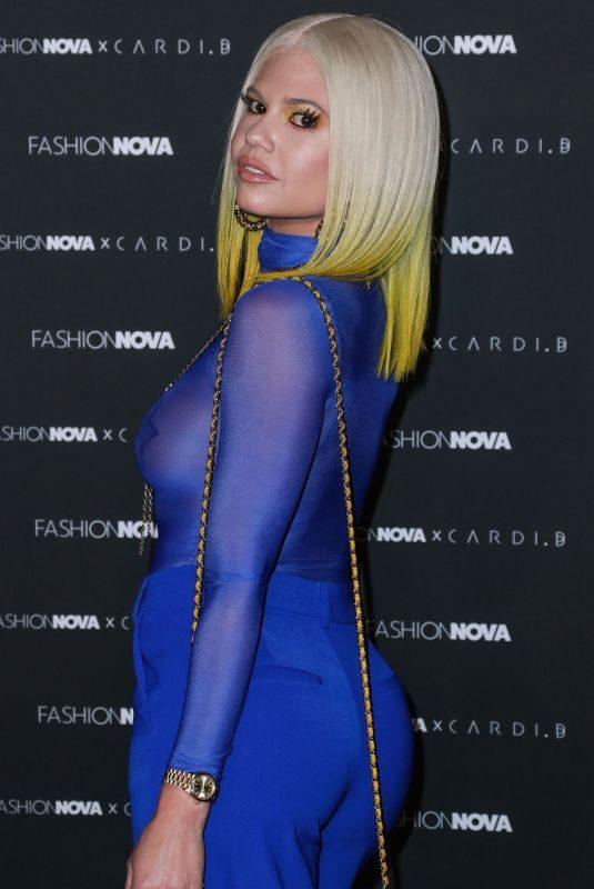 CHANEL WEST COAST at Fashion Nova x Cardi B Collection Launch at Hollywood Palladium 05/08/2019